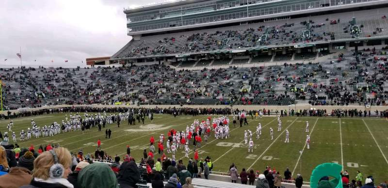 Seating view for Spartan Stadium Section 6 Row 35 Seat 29