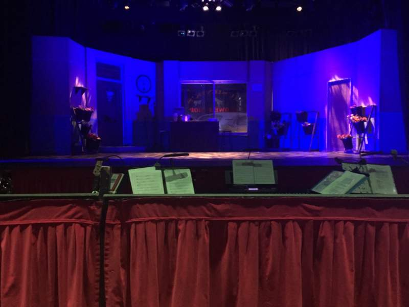 Seating view for Prince of Wales Theatre (Cannock) Section Floor Row D Seat 5