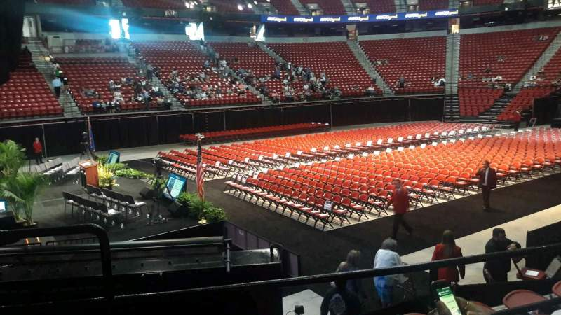 Thomas & Mack Center, section: 119, row: C, seat: 11