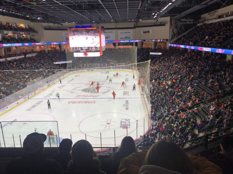 Seating view for PPL Center Section 209 Row 4 Seat 10