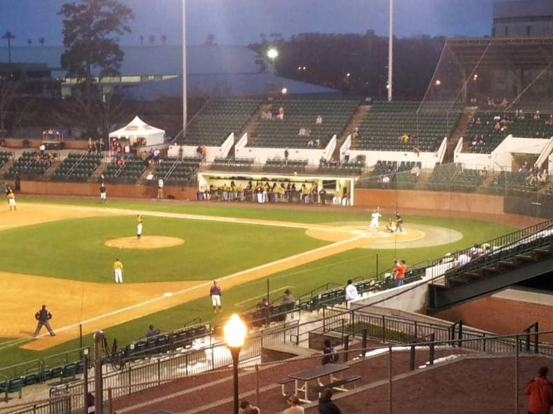 Seating view for Plainsman Park