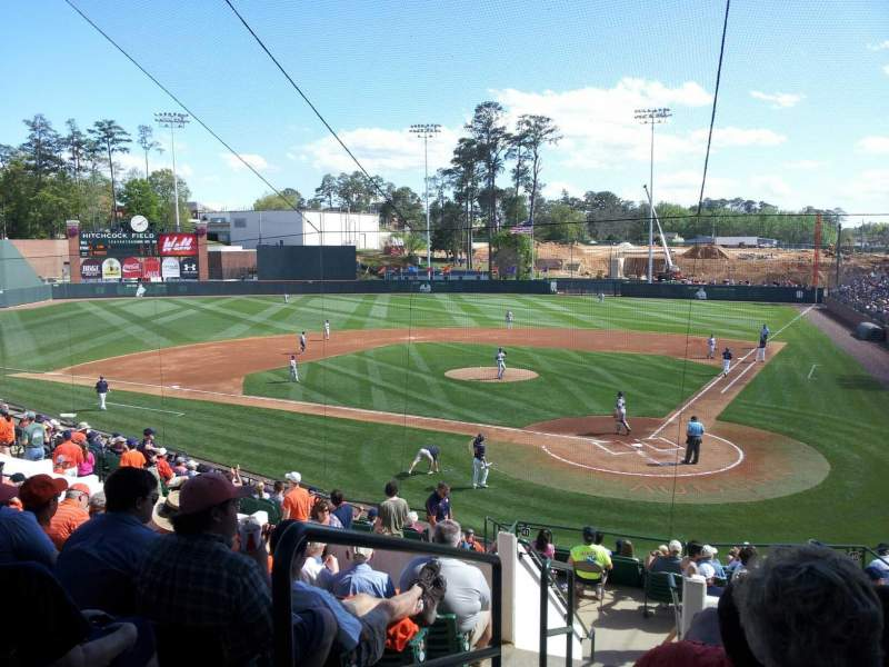 Seating view for Plainsman Park Section 107 Row R Seat 3