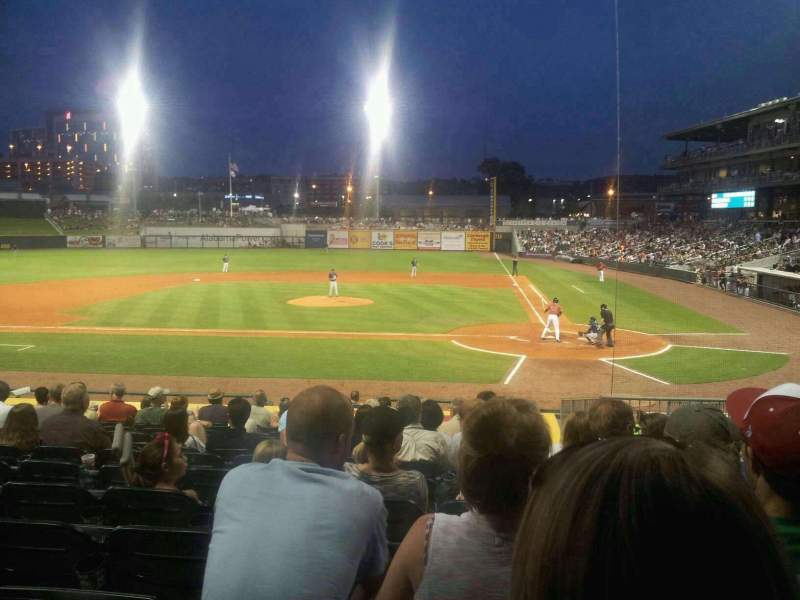 Seating view for Regions Field Section 106 Row T Seat 3