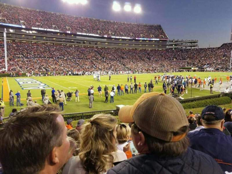 Seating view for Jordan-Hare Stadium Section 1 Row 14 Seat 14
