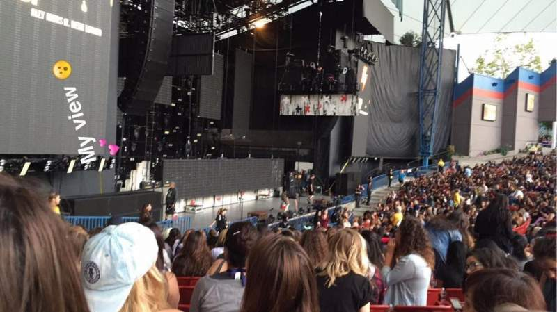 Seating view for Shoreline Amphitheatre Section 103 Row P Seat 30