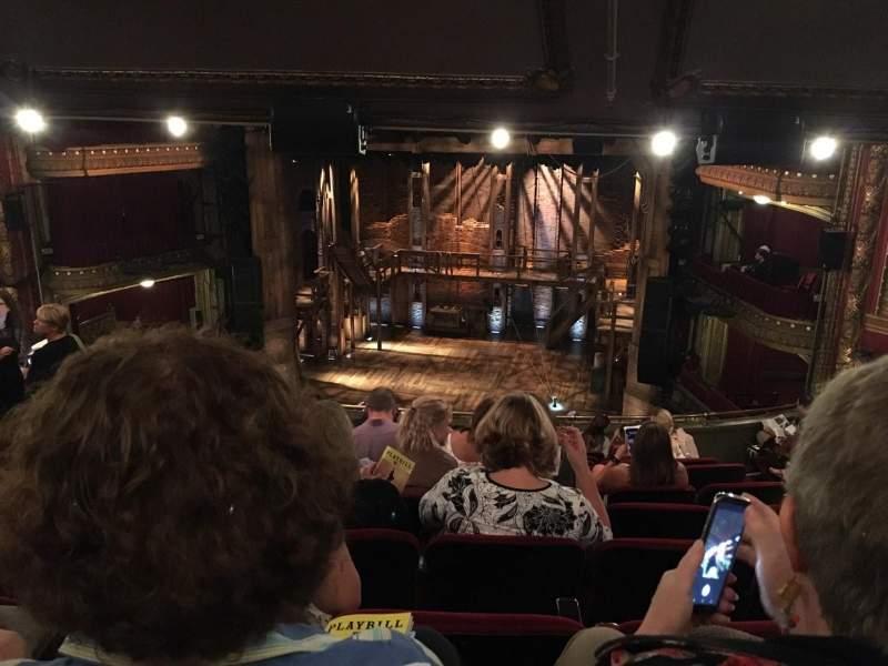 CIBC Theatre, section: Balcony RC, row: L, seat: 418