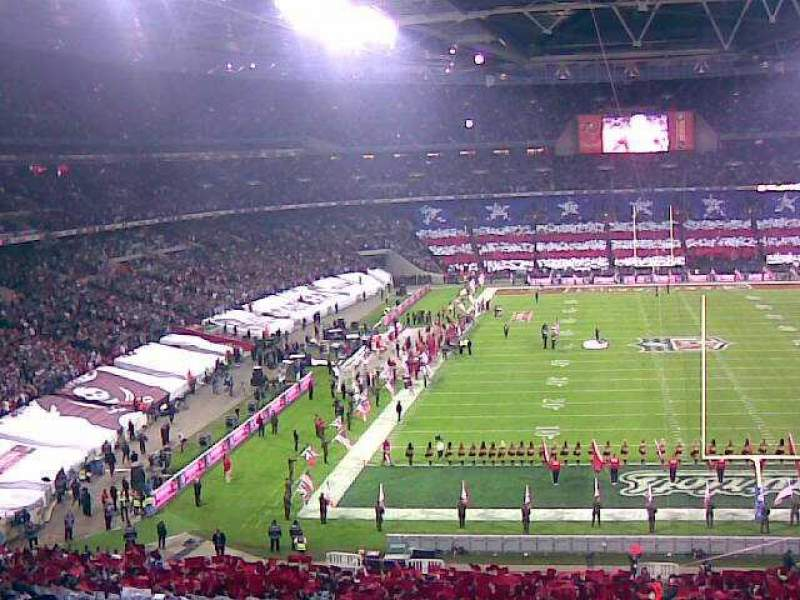 Seating view for Wembley Stadium Section 215