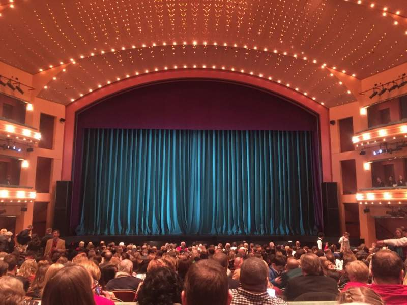 Seating view for Procter And Gamble Hall at the Aronoff Center Section Orchestra Rear Row S Seat 208