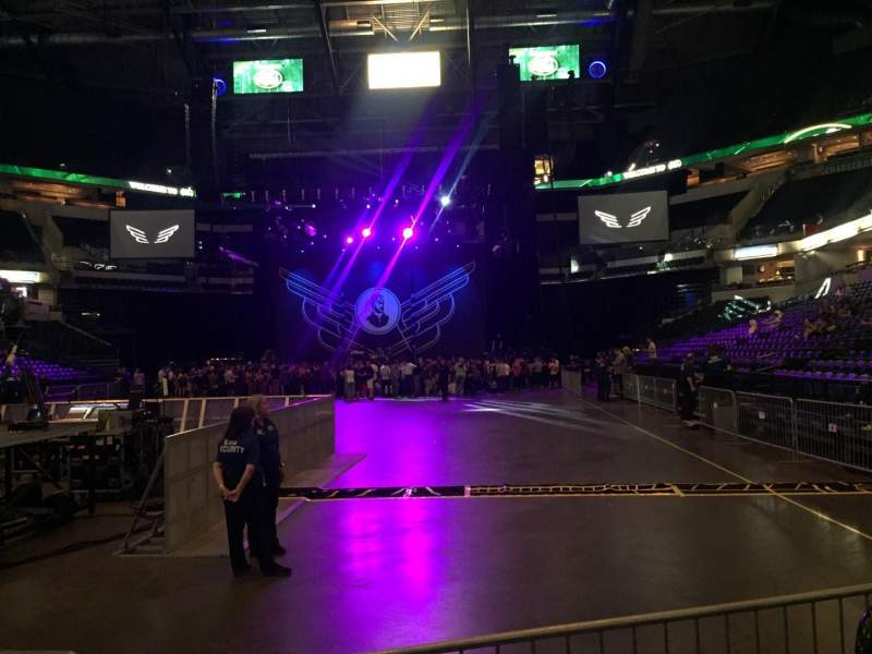 Bankers Life Fieldhouse, section: 9, row: 7, seat: 21