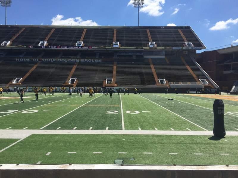 M. M. Roberts Stadium, section: C, row: 3, seat: 2