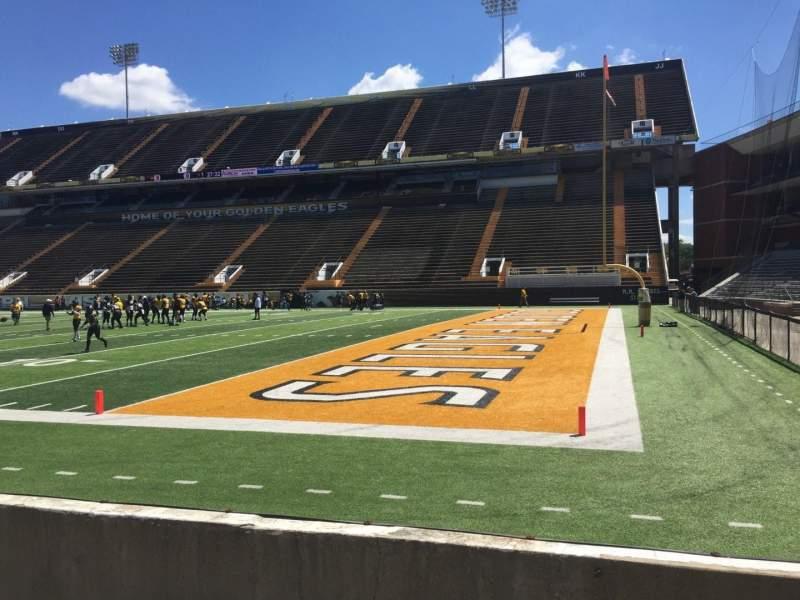 M. M. Roberts Stadium, section: A, row: 3, seat: 1