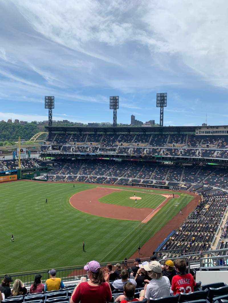 Seating view for PNC Park Section 333 Row L Seat 9