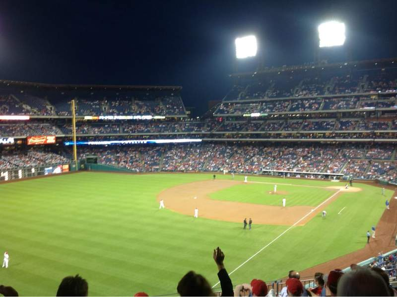 Seating view for Citizens Bank Park Section 236 Row 8 Seat 17