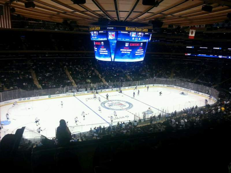 Seating view for Madison Square Garden Section 223 Row 9 Seat 3