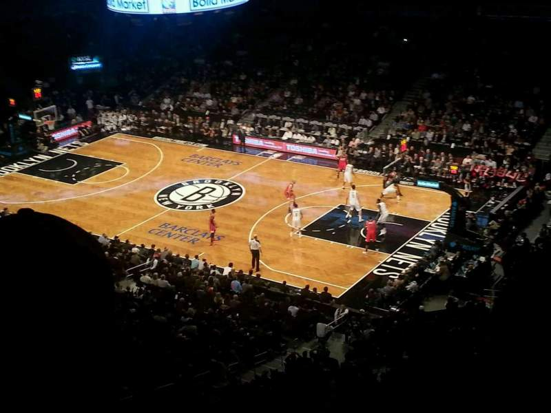 Seating view for Barclays Center Section 220 Row 4 Seat 21