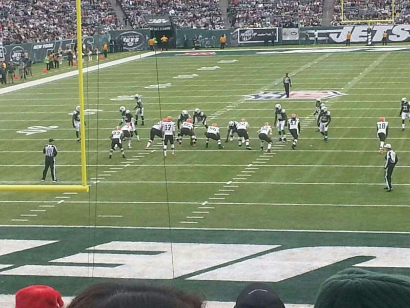 Seating view for MetLife Stadium Section 149 Row 26 Seat 20