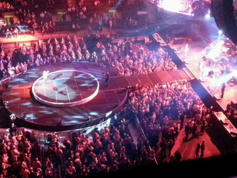 Madison Square Garden: Madison Square Garden, Section 313, Row 1, Seat 13