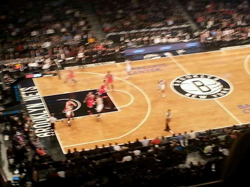 Seating view for Barclays Center Section 226 Row 4 Seat 10