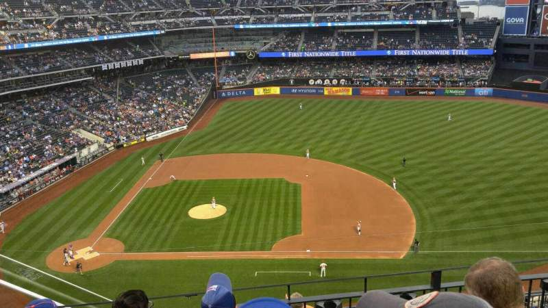 Seating view for Citi Field Section 507 Row 4 Seat 6