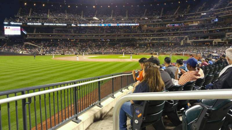 Seating view for Citi Field Section 130 Row 14 Seat 1