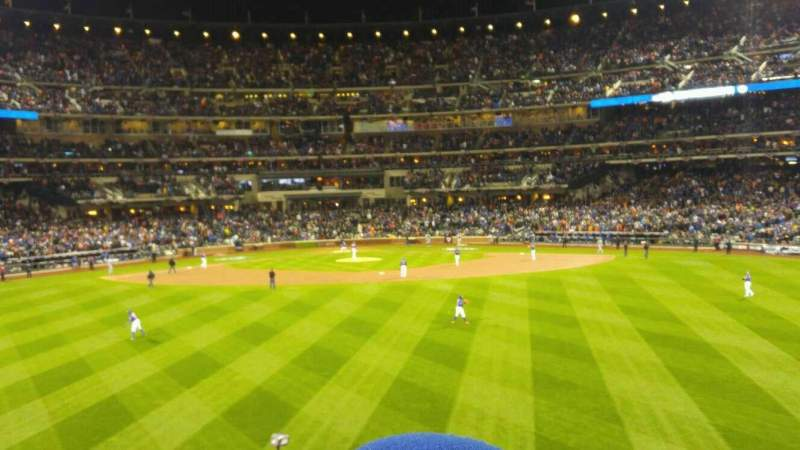Seating view for Citi Field Section 140 Row 17 Seat 18