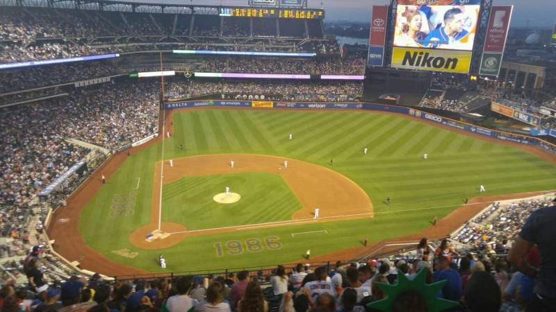 Seating view for Citi Field Section 509 Row 13 Seat 12