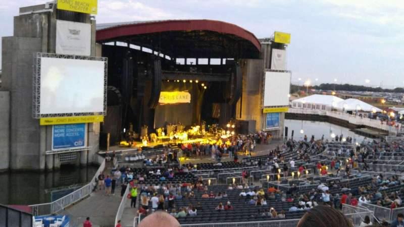 Jones Beach Theater, section: 16, row: HH, seat: 9
