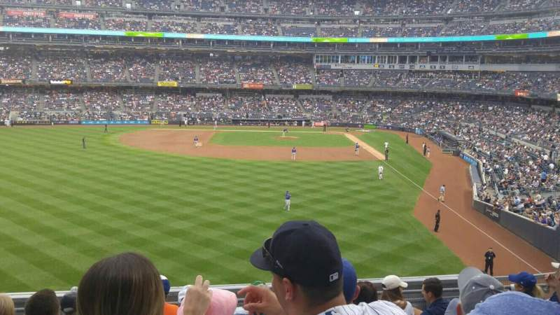Seating view for Yankee Stadium Section 234 Row 8 Seat 16