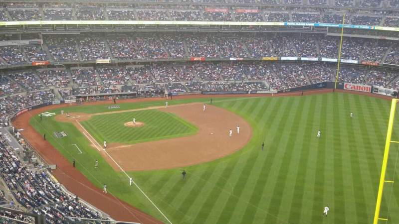 Seating view for Yankee Stadium Section 408 Row 10 Seat 18
