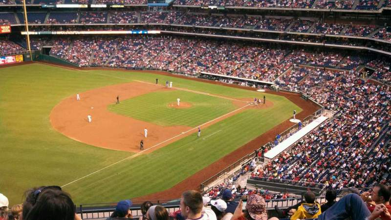Seating view for Citizens Bank Park Section 330 Row 8 Seat 23