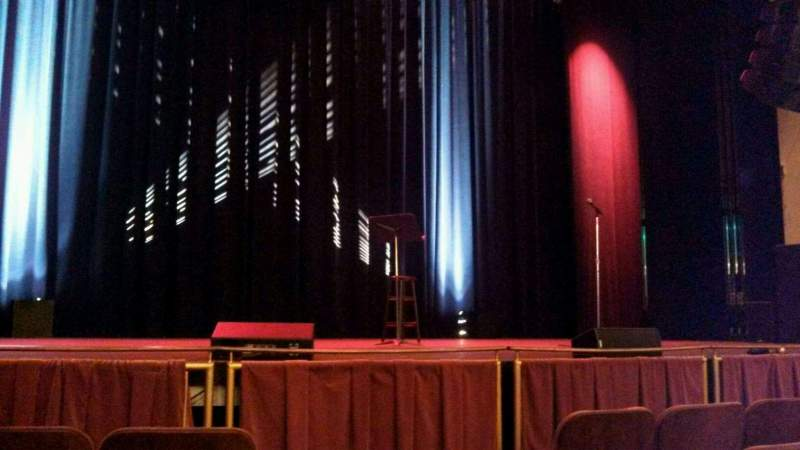 Seating view for Strand-Capitol Performing Arts Center Section orchestra left Row E Seat 3