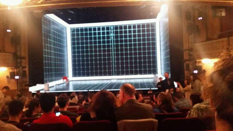 Seating view for Ethel Barrymore Theatre Section Orchestra Row P Seat 113