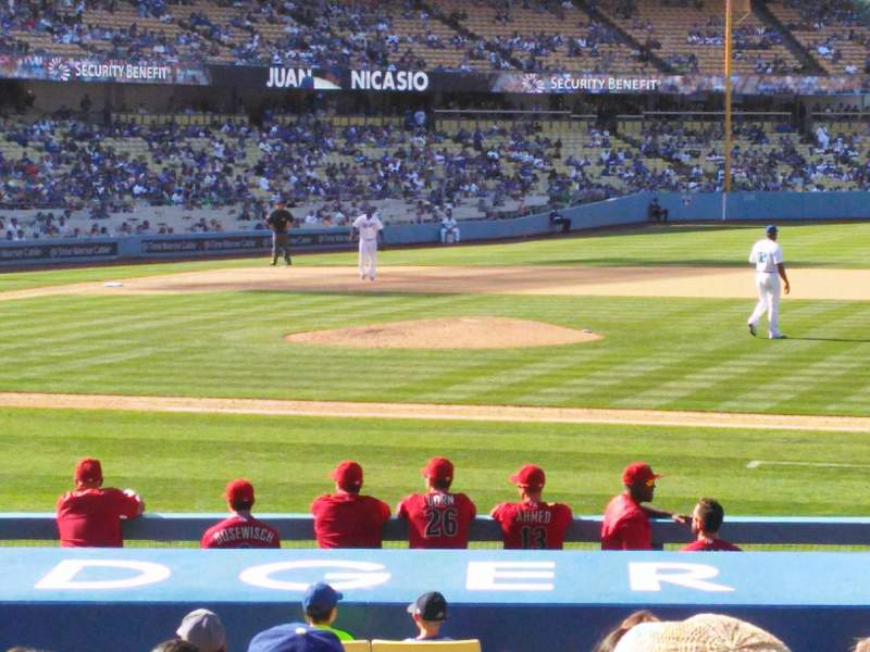 Seating view for Dodger Stadium Section 20FD Row L Seat 4