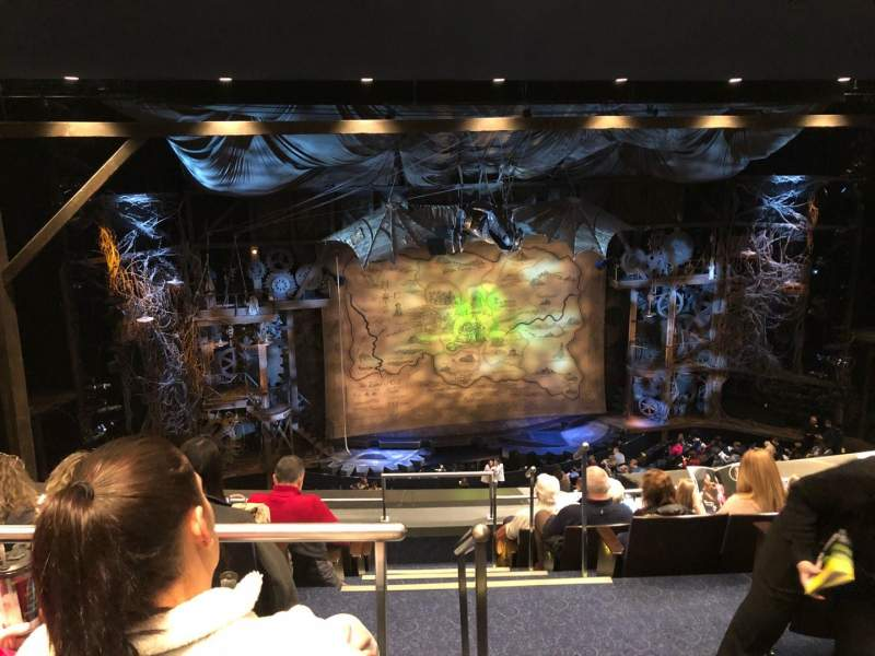 Gershwin Theatre, section: MMEZZ, row: G, seat: 1