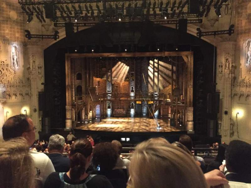 Seating view for Orpheum Theatre (San Francisco) Section Mezzanine RC Row E Seat 106
