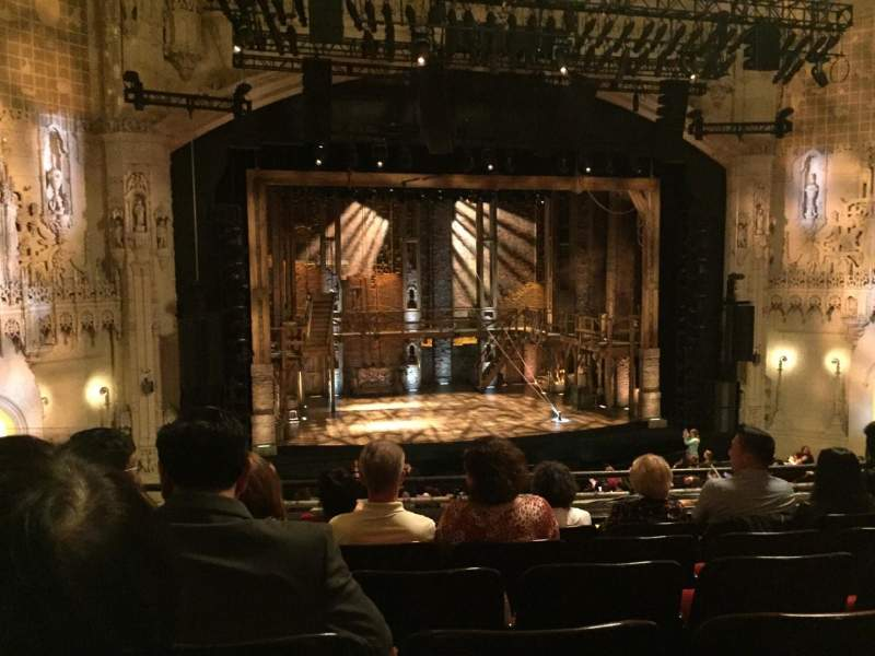 Seating view for Orpheum Theatre (San Francisco) Section Mezzanine L Row F Seat 125