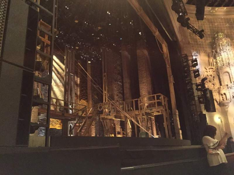 Seating view for Orpheum Theatre (San Francisco) Section Orchestra L Row C Seat 9
