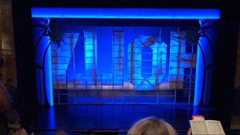 Seating view for Nederlander Theatre Section Mezzanine C Row D Seat 108