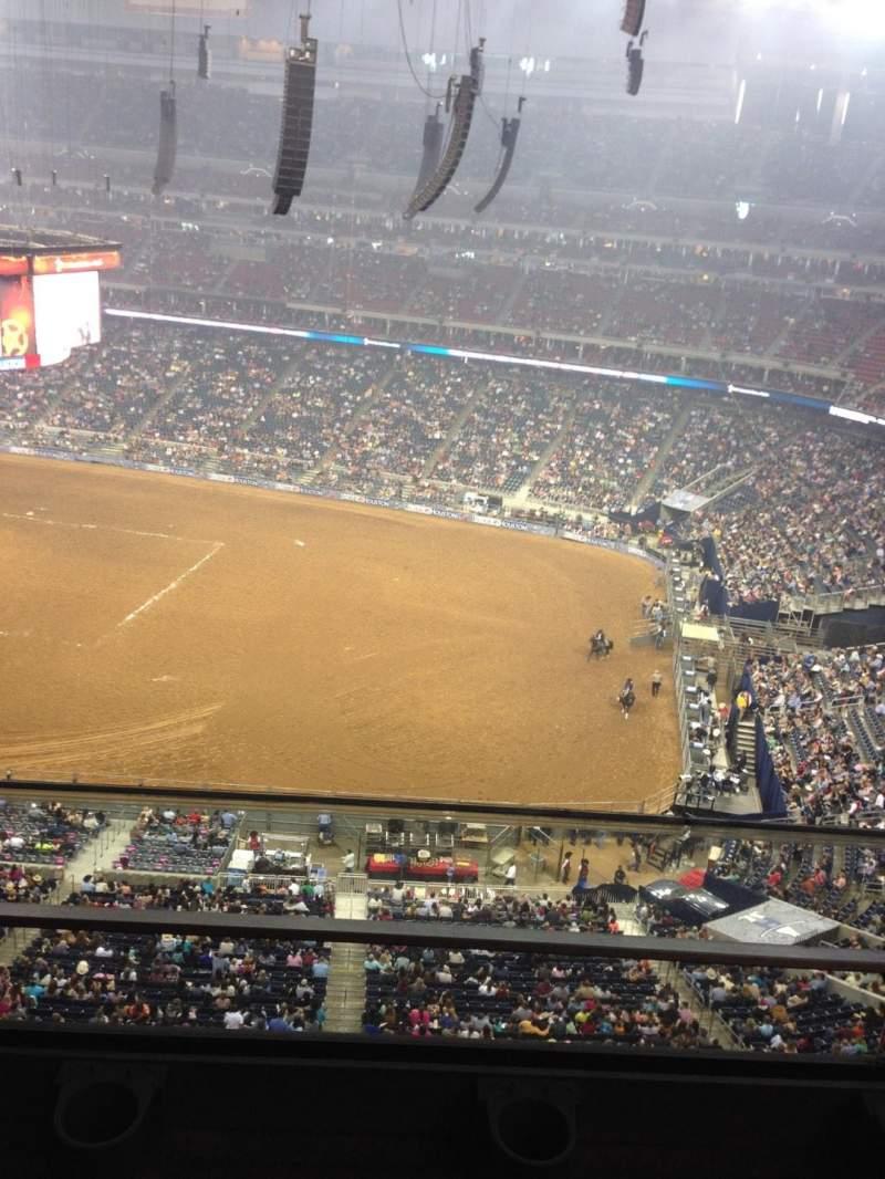 NRG Stadium, section: 530, row: H, seat: 13