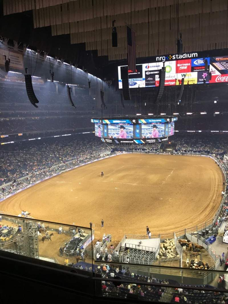 Seating view for NRG Stadium Section 544 Row C  Seat 19
