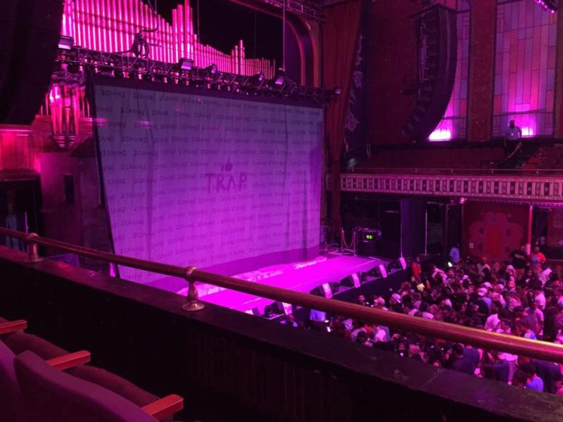 The Tabernacle, section: 206, row: B, seat: 1-2