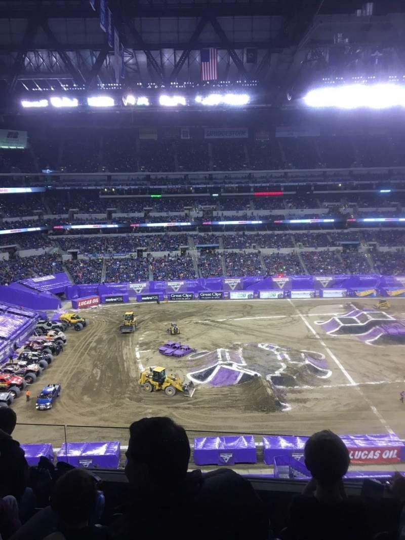 Lucas Oil Stadium, section: 514