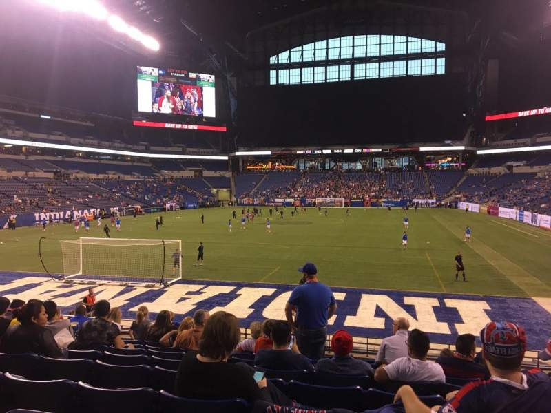 Lucas Oil Stadium Section 125 Row 17 Seat 11 Indy
