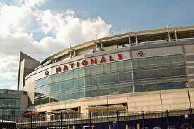 Seating view for Nationals Park Section Home Plate Gate