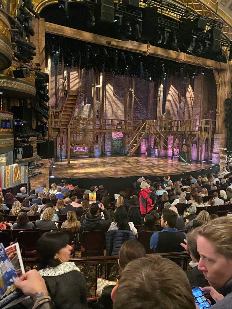Seating view for Richard Rodgers Theatre Section Orchestra L Row O Seat 23