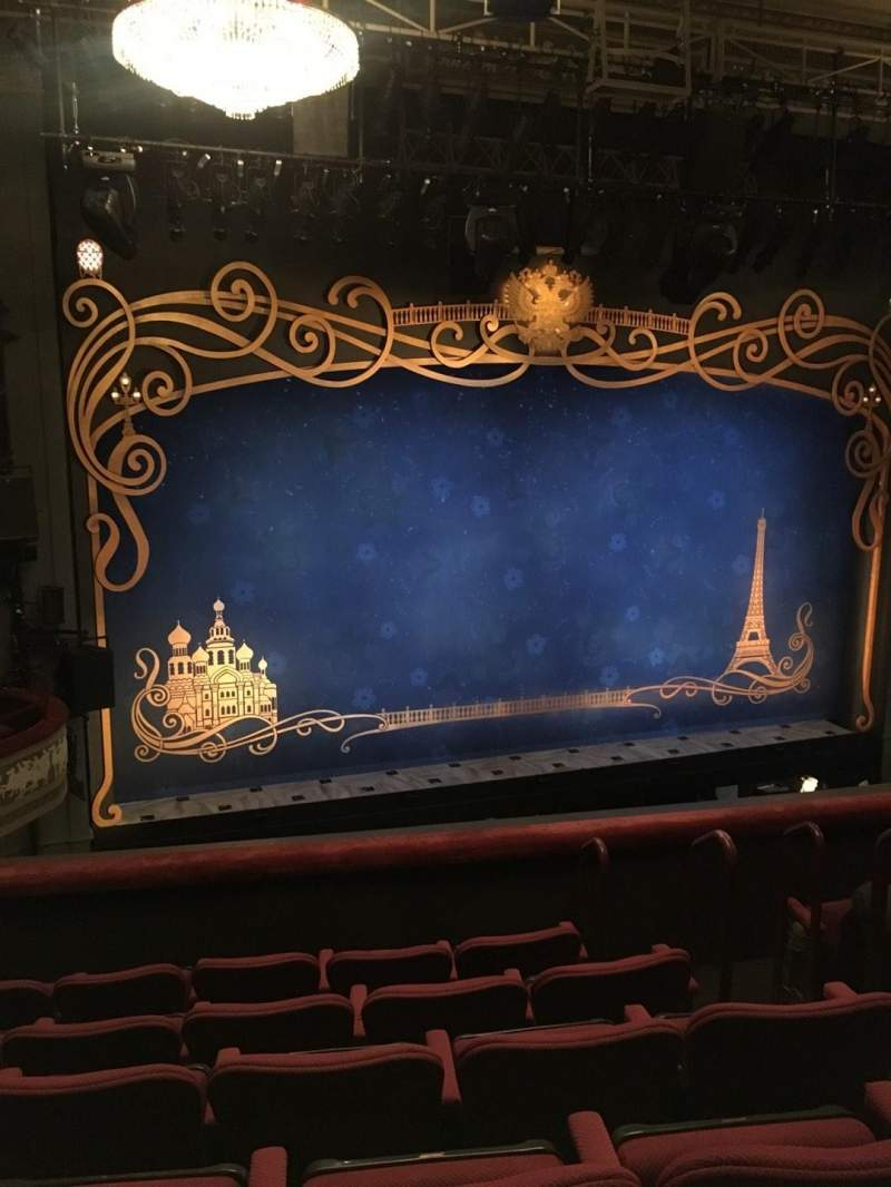 Seating view for Broadhurst Theatre Section Mezzanine L Row F Seat 7