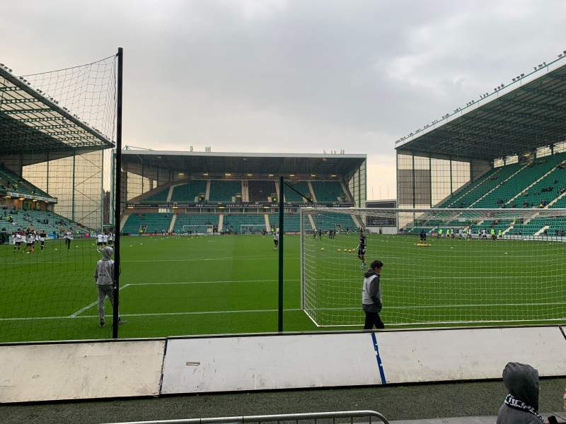 Seating view for Easter Road Stadium Section South Stand Row C Seat 76