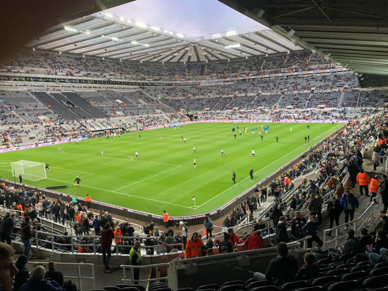 Seating view for St James' Park Section Gallowgate East Row N Seat 82