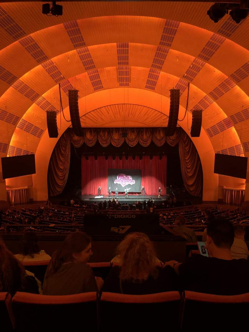 Seating view for Radio City Music Hall Section 2nd Mezzanine 4 Row F Seat 405