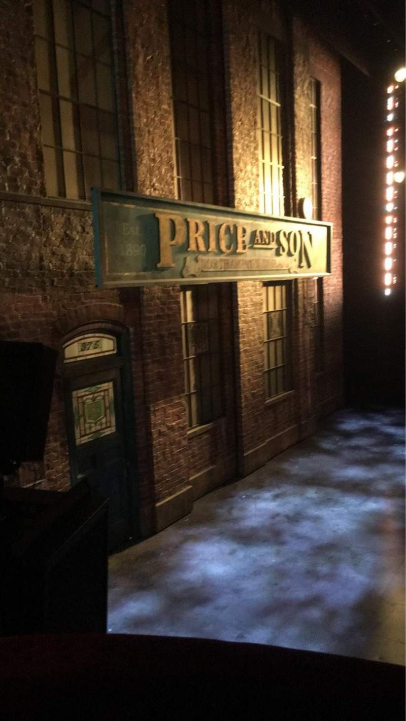 Seating view for Al Hirschfeld Theatre Section Left Box Row A Seat 2